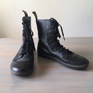 Dr. Martens Black Stratford 9 Hole Lace Up Boot 7